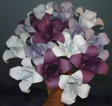 origami lily bouquet by pandaraoke