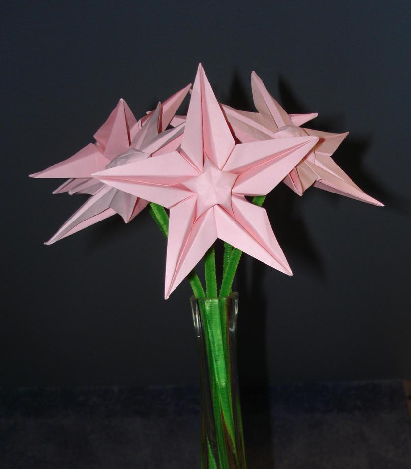 Simple Dollar Bill Origami Flower