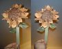 Origami sunflower by pandaraoke