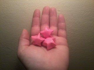 big origami stars by pandaraoke