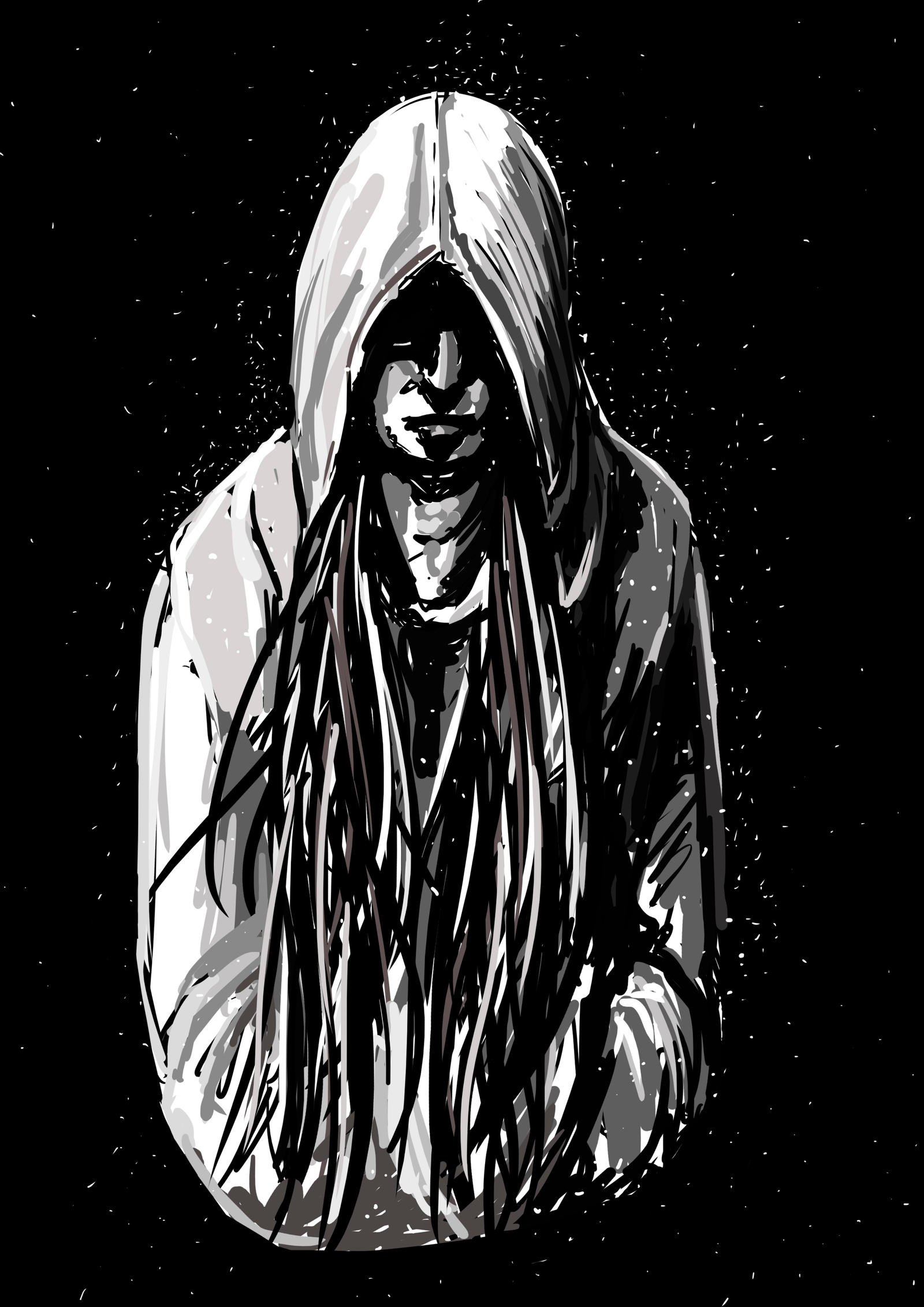It's just a photo of Impertinent Guy In Hoodie Drawing
