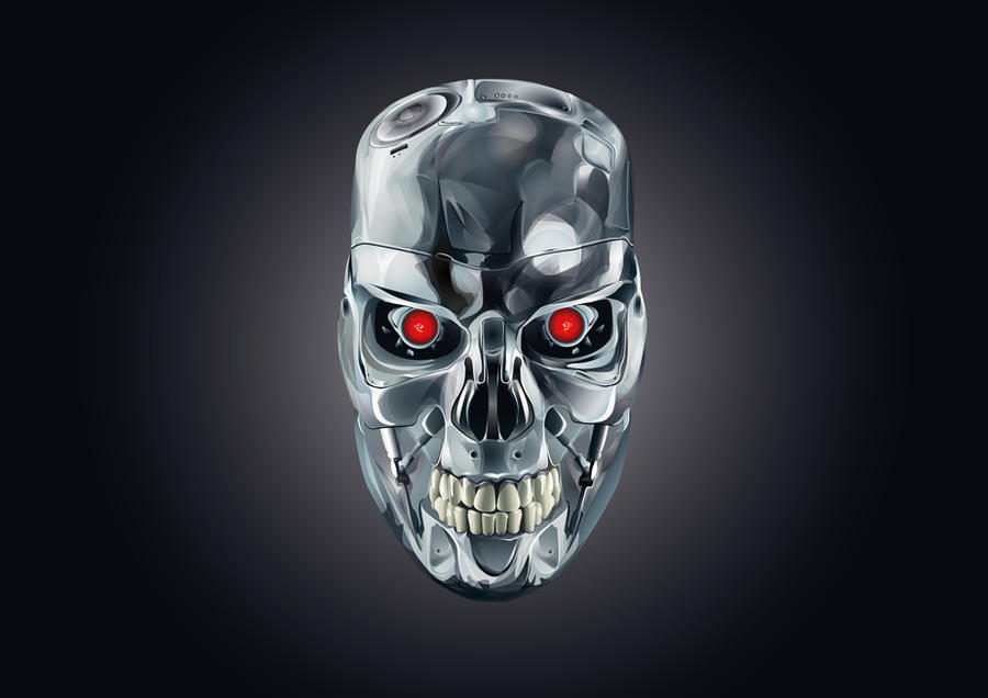 Illustrator -- Terminator by ArhyaM