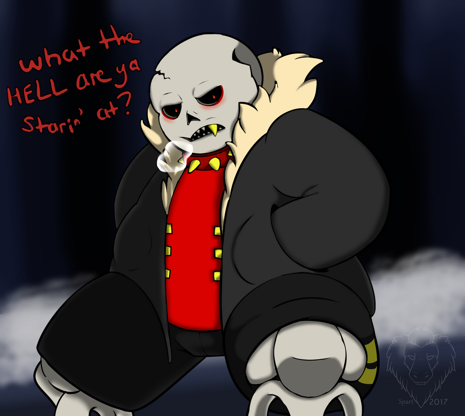 Underfell Sans by o-Sparticaus-o