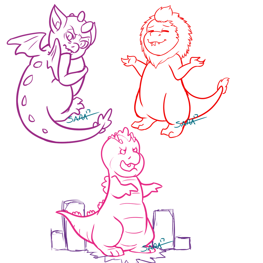Some doodles [WIP] by o-Sparticaus-o
