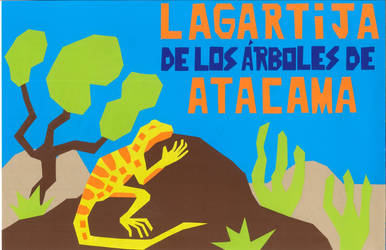 Lizard of the Atacama trees