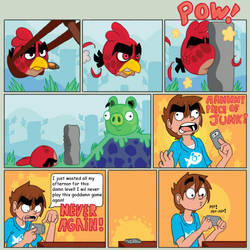 I.P.T.: Angry Birds by TheBrokenEgg