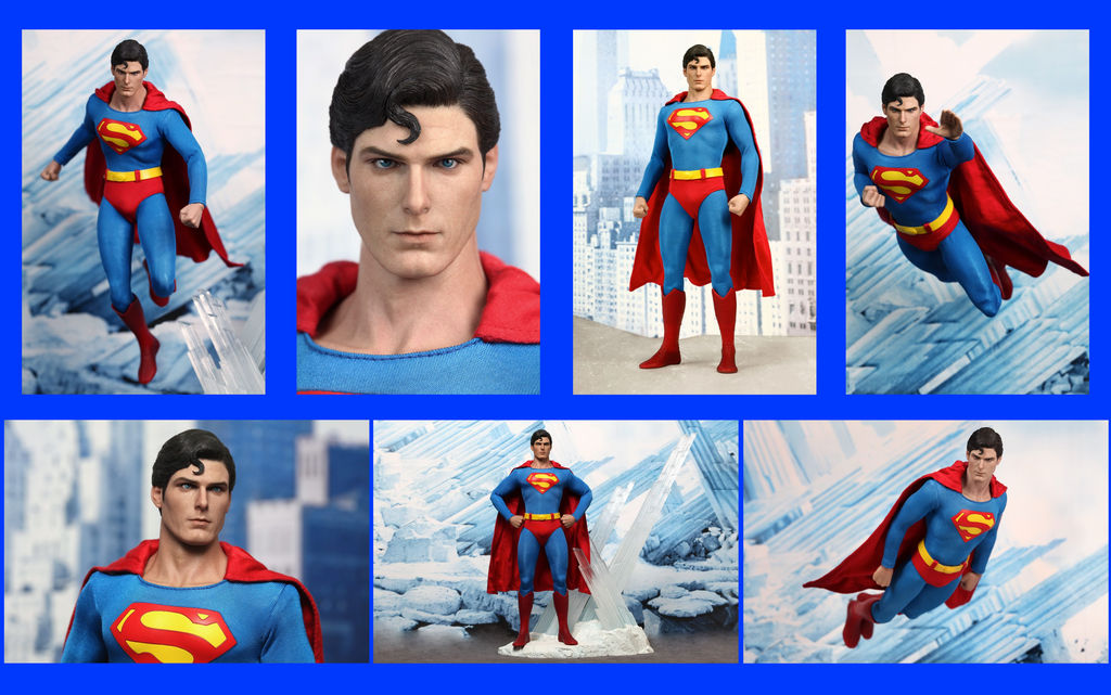 Superman 1978 Christopher Reeve Hot Toys By Yujin Sayonara On Deviantart