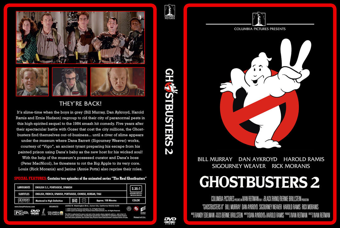 Ghostbusters 2 DVD classic by jhroberts