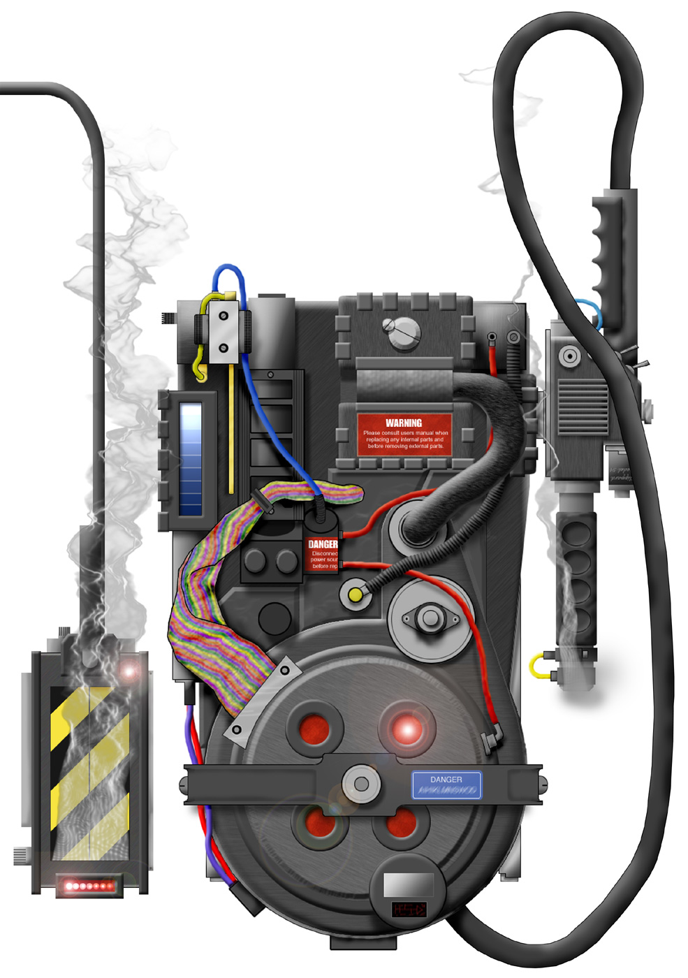 how to build a proton pack