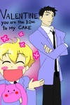 Ouran Valentine's Day Card