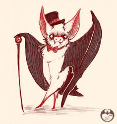 Bat Astaire by themidnightblues