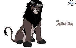 American Lion by BluecheetahX3