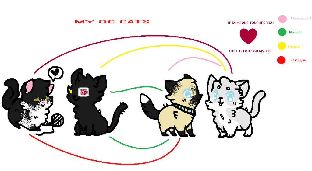 Cats oc by Ashley-Chan01