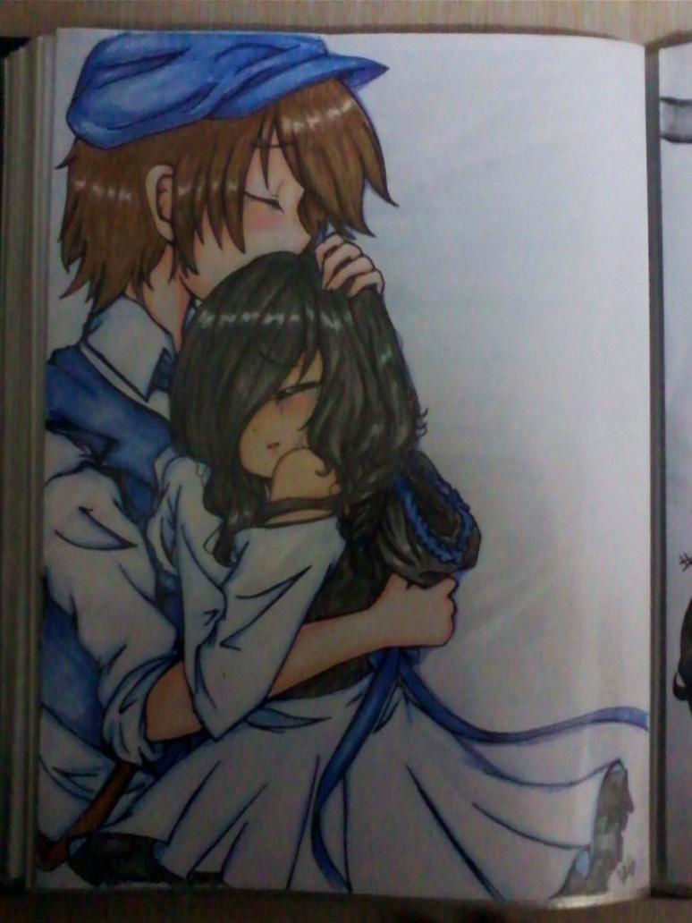 Hugs by Rainbow-fiedKitty