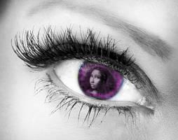 Nicki Eyeball by BrittForbes