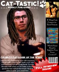 Cat Magazine: John Travolta by BrittForbes