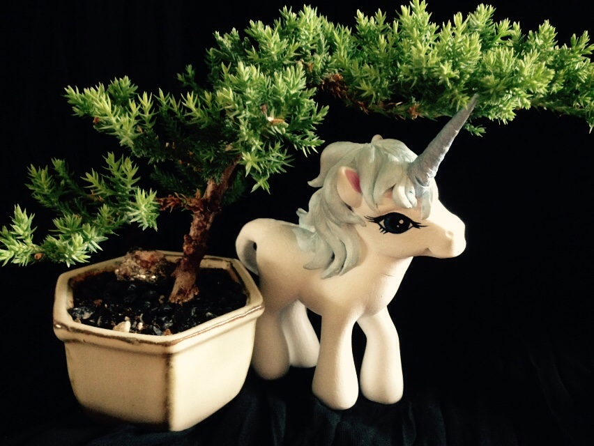 The Last Unicorn MLP Custom by SarahWaterRaven
