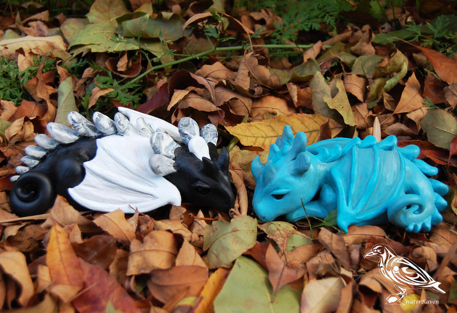 Dragon Hatchlings by SarahWaterRaven
