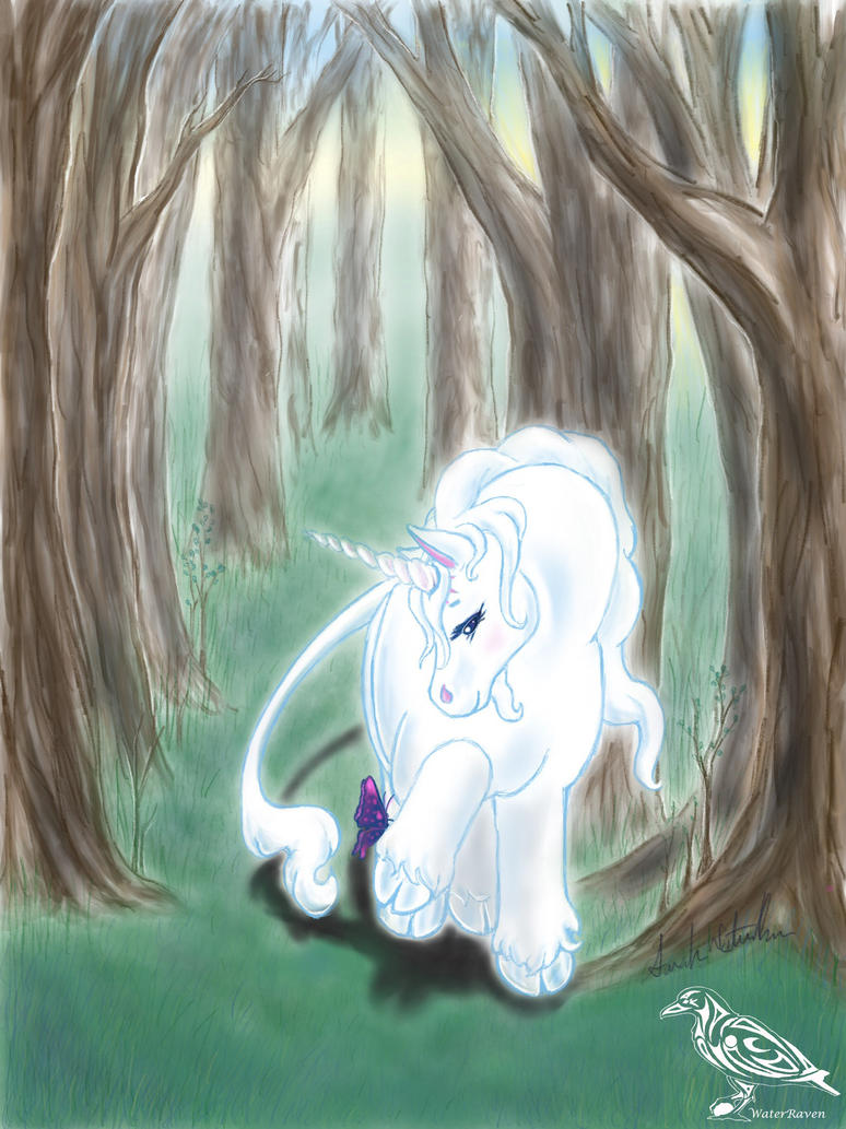 My Little Last Unicorn  by SarahWaterRaven