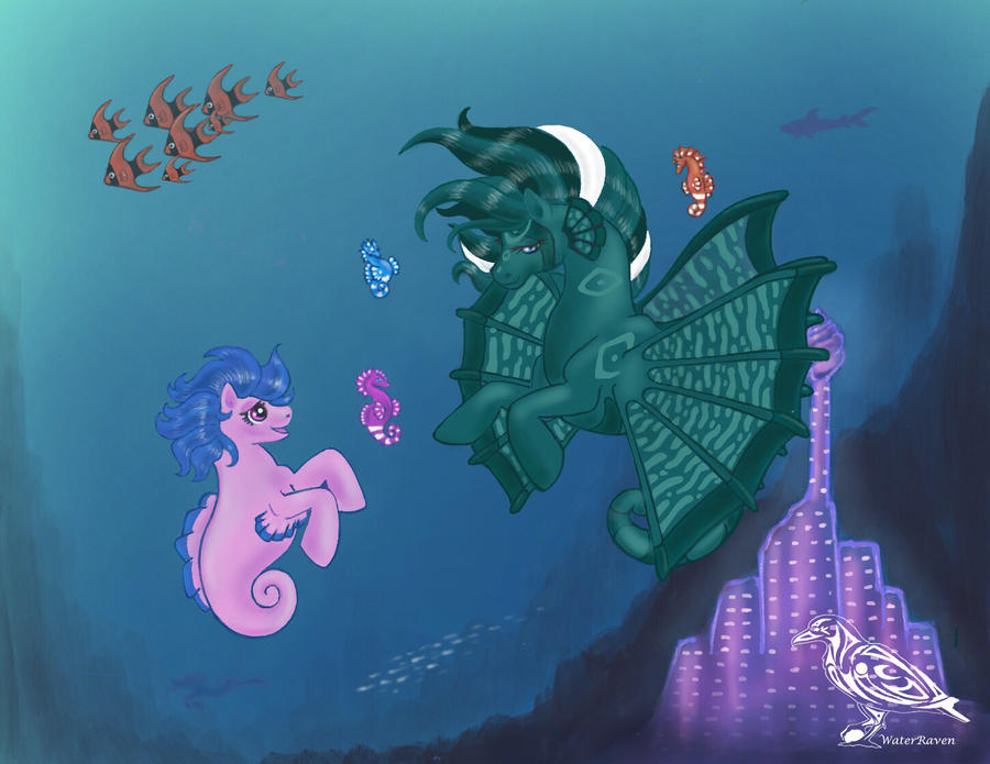 Sea Ponysona by SarahWaterRaven