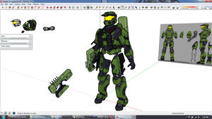 Much Armor, very Master Chief