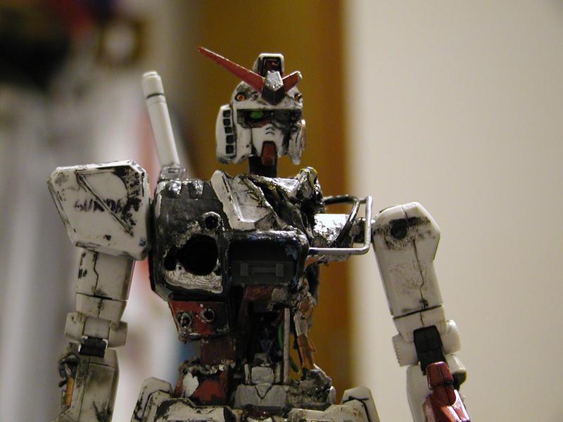 RX-78 Battle scarred Gundam by AlmightyNabeshin
