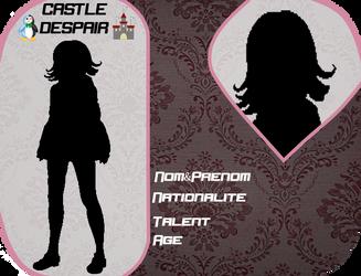[Castle-Despair] Fiche Personnage by MonoPeng