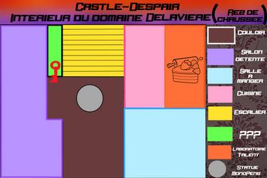[Castle-Despair] Carte Rez-De-Chaussee by MonoPeng