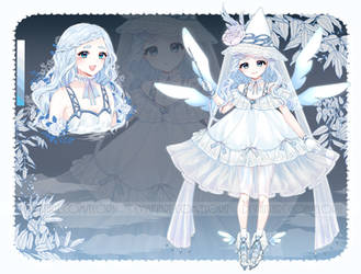 [Closed] White Sorceress - Adoptable #10 by Eloru