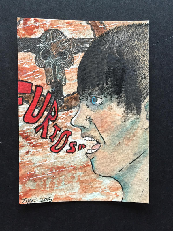 Imperator Furiosa ACEO  by brittkay