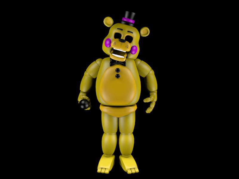Gold Freddy Toys : Golden toy freddy by puma on deviantart