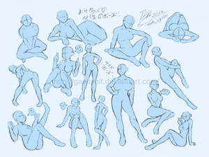 Reference and pose by tales-of-collet on DeviantArt