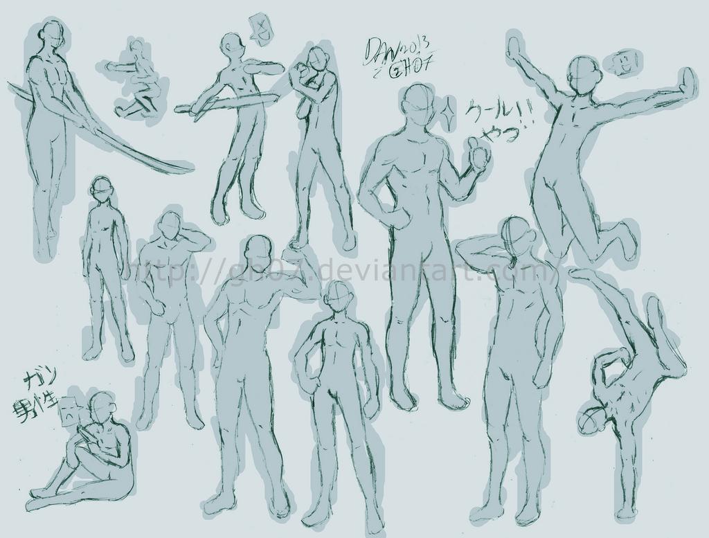 Human anatomy art reference