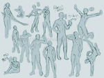 Male poses Reference