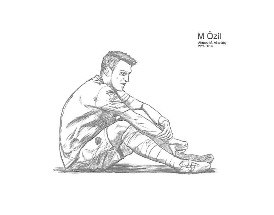 Mesut Ozil By EZIO2016 On DeviantArt
