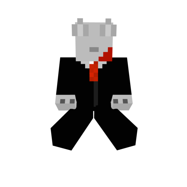 Slenderwolf minecraft by slender0dog
