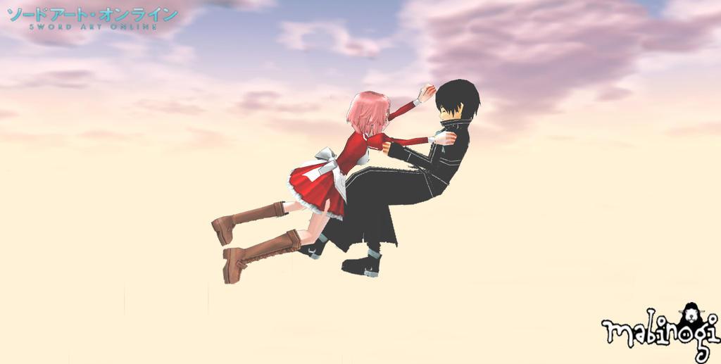 Mabinogi x Sword Art Online: Kirito x Lisbeth by NeMuRi ...