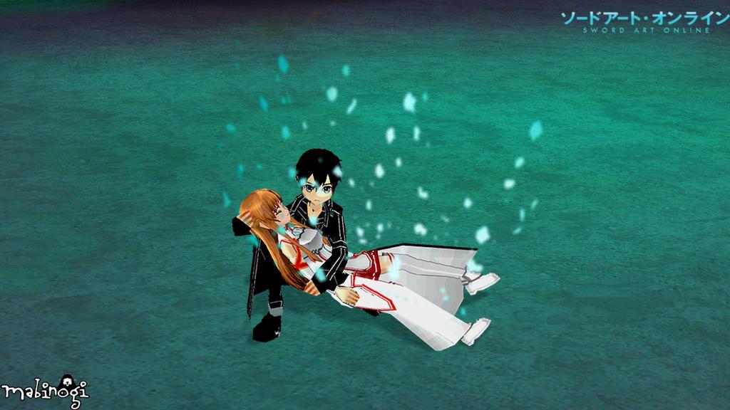 Mabinogi x Sword Art Online: Kirito x Asuna 3 by NeMuRi ...