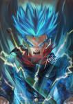 Super Saiyajin God Trunks