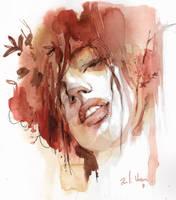 Watercolour by Renassur