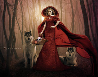 Little Red Riding Hood by Whendell