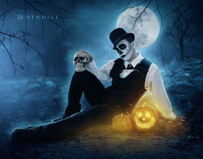 Halloween Night by Whendell on DeviantArt