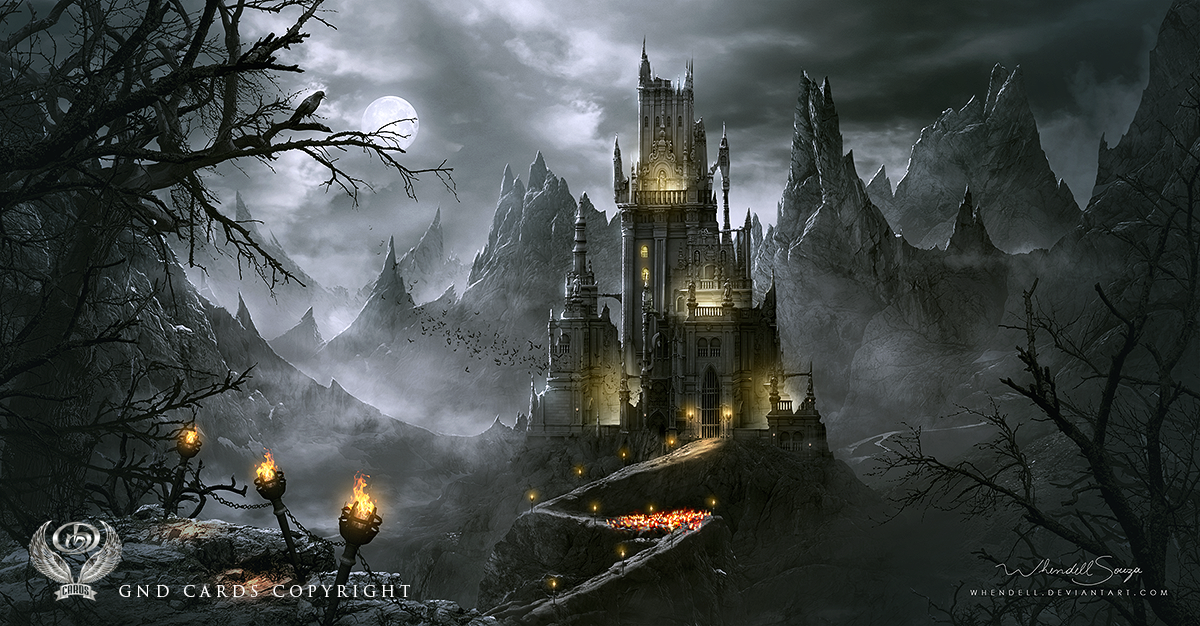 Dracula's Castle by Whendell