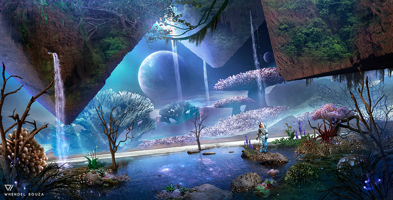 Aquarium: The Planet by Whendell