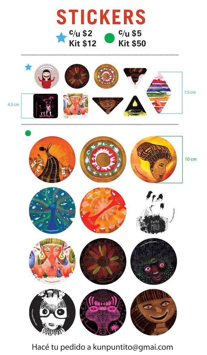 Promo Stickers UN PUNTITO by unpuntito