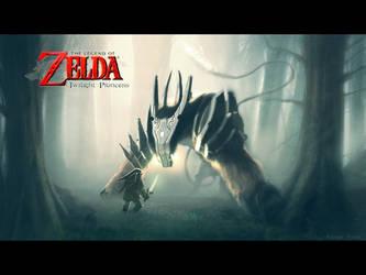 Zelda:Twilight Princess FanArt by ColdFlame1987