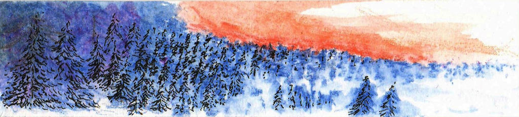 Watercolor Bookmarker - 2