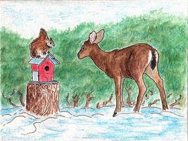 Holiday Card - Small Friendships