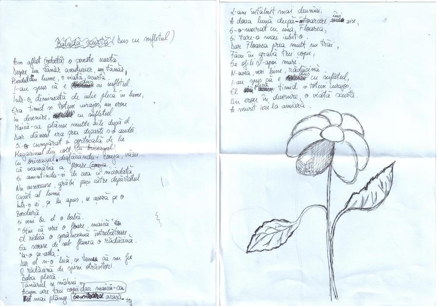 Floarea - Poezie by cooties-galore