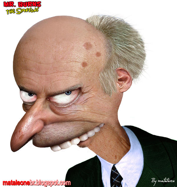 Mr. Burns real by mataleoneRJ